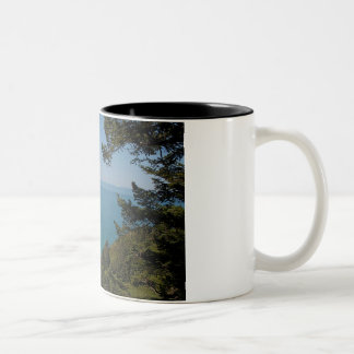 Amor de la costa del norte tazas de café