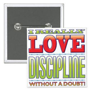 Amor de la disciplina pin