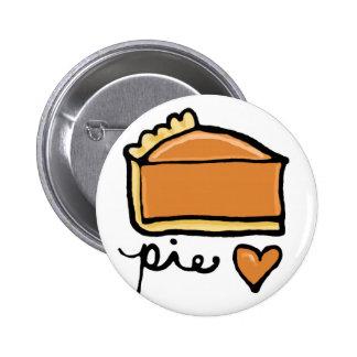 ¡Amor de la empanada! Pin Redondo De 2 Pulgadas