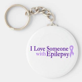 amor de la epilepsia llavero personalizado