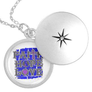 Amor de la esperanza de la fe de la artritis reuma medallón