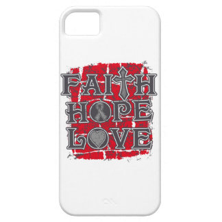 Amor de la esperanza de la fe de la diabetes iPhone 5 carcasa