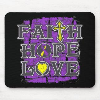 Amor de la esperanza de la fe de la endometriosis tapete de raton