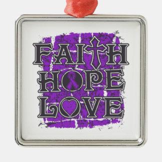 Amor de la esperanza de la fe de la malformación ornamente de reyes