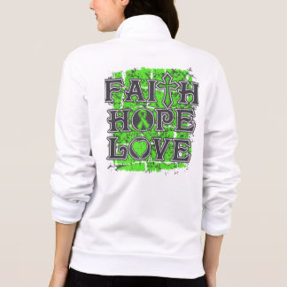 Amor de la esperanza de la fe del linfoma chaquetas imprimidas