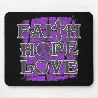Amor de la esperanza de la fe del lupus alfombrillas de ratón