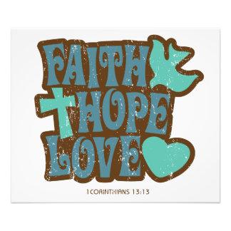 amor de la esperanza de la fe fotografía