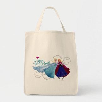 Amor de la familia de Ana y de Elsa el | Bolsa Tela Para La Compra