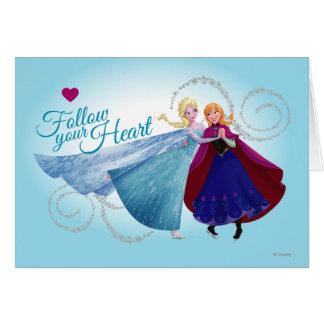 Amor de la familia de Ana y de Elsa el | Tarjeta De Felicitación