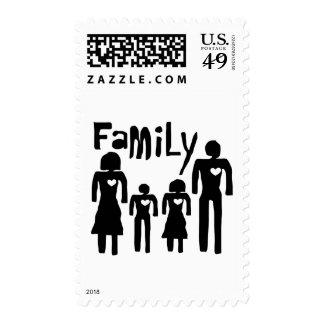 amor de la familia franqueo
