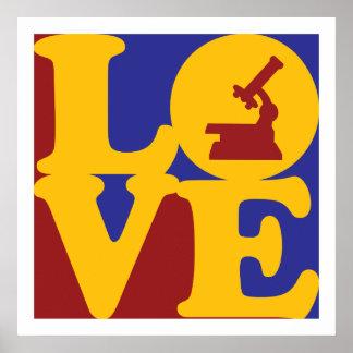 Amor de la fisiología póster