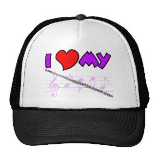 Amor de la flauta gorras de camionero