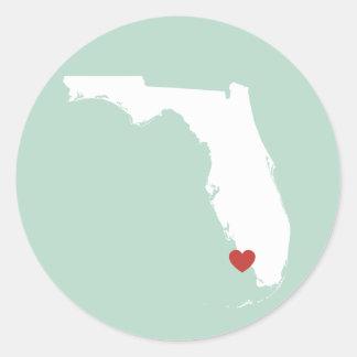 Amor de la Florida - pegatina adaptable