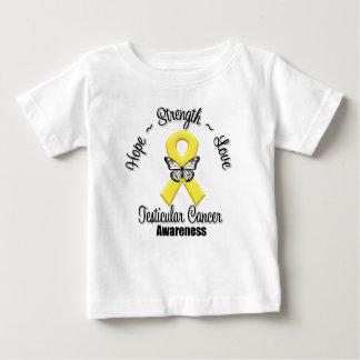 Amor de la fuerza de la esperanza del cáncer camisas