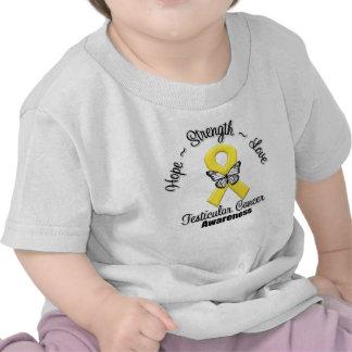 Amor de la fuerza de la esperanza del cáncer testi camiseta