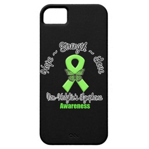 Amor de la fuerza de la esperanza del linfoma de N iPhone 5 Cobertura