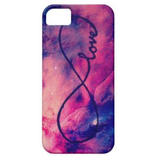 Amor de la galaxia iPhone 5 cárcasa