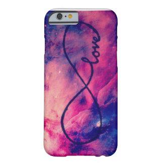 Amor de la galaxia funda de iPhone 6 barely there