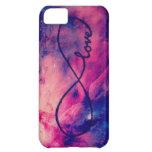Amor de la galaxia funda para iPhone 5C