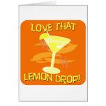 ¡Amor de la gota de limón! Felicitación