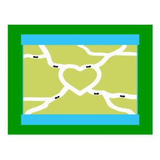 Amor de la granja de la hormiga postales