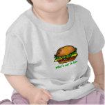 Amor de la hamburguesa camisetas