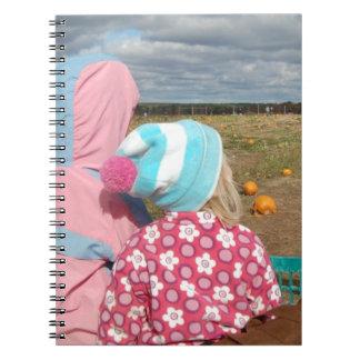 Amor de la hermana para siempre spiral notebooks