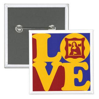 Amor de la historia de arte pin