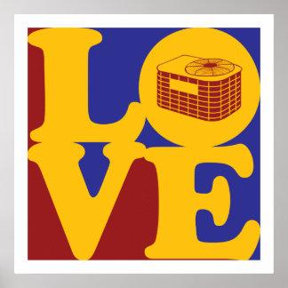 Amor de la HVAC Impresiones