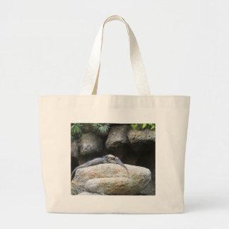 Amor de la iguana bolsa de mano