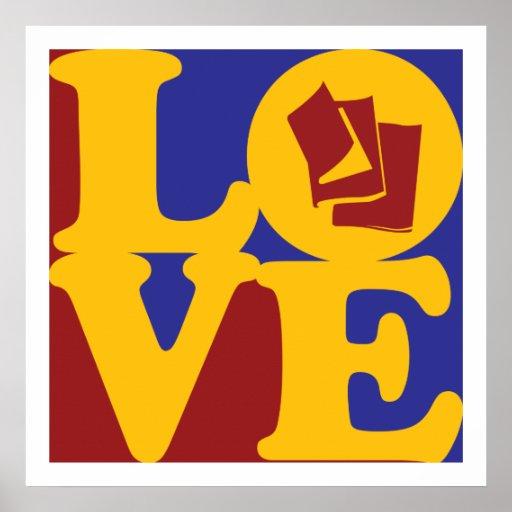 Amor de la lectura póster