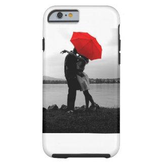 Amor de la lluvia funda de iPhone 6 tough
