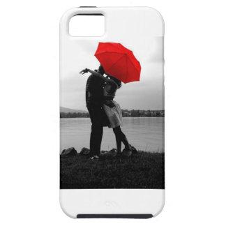 Amor de la lluvia iPhone 5 carcasas
