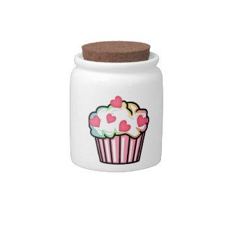 Amor de la magdalena jarras para caramelos
