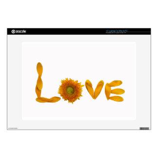 Amor de la margarita 38,1cm portátil calcomanía