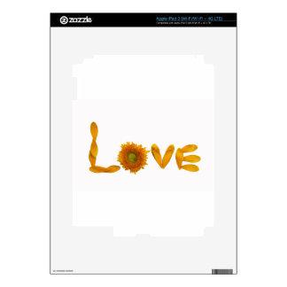Amor de la margarita iPad 3 pegatina skin