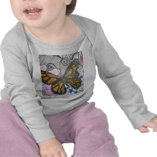 Amor de la mariposa camiseta