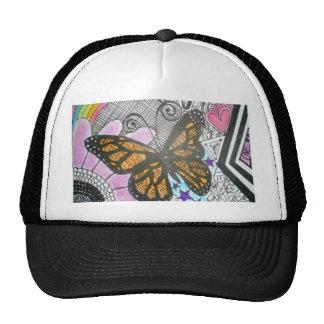 Amor de la mariposa gorros