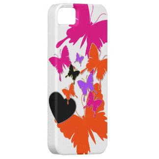 Amor de la mariposa iPhone 5 Case-Mate fundas