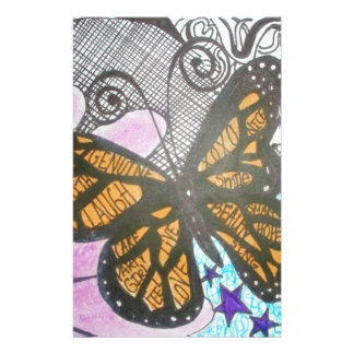 Amor de la mariposa papeleria de diseño