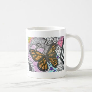 Amor de la mariposa taza