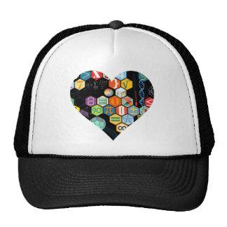 amor de la matemáticas gorras