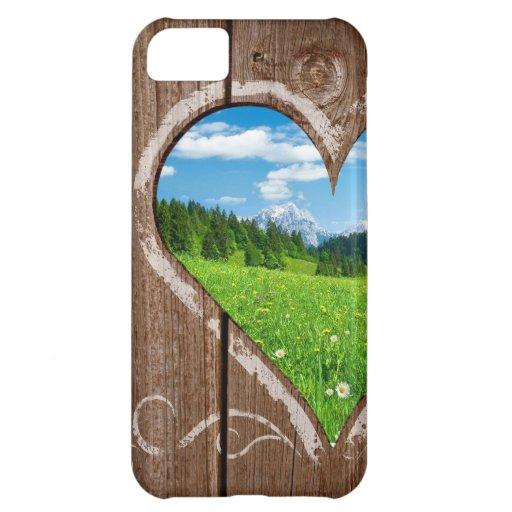 Amor de la naturaleza - caso del iPhone del el día Funda Para iPhone 5C