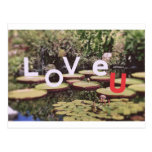 Amor de la naturaleza postal