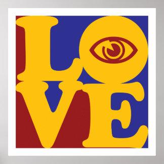 Amor de la optometría póster