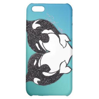 Amor de la orca en fondo del trullo