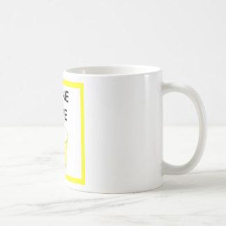 AMOR DE LA ORINA TAZA DE CAFÉ