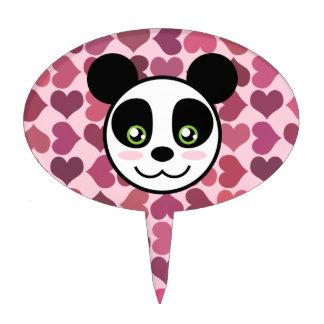 """""""Amor de la panda """" Figura De Tarta"""