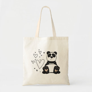 amor de la panda bolsa tela barata