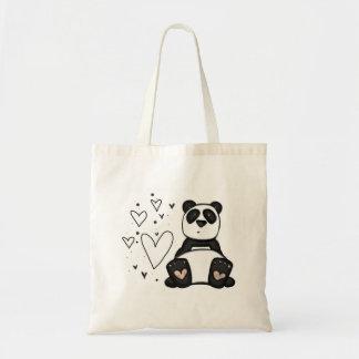 amor de la panda bolsas